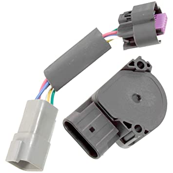 apdty 112792 tps apps throttle position accelerator pedal position sensor w wiring harness adapter connector fits 1998 2004 dodge ram pickup 5 9l Throttle Position Sensor Voltage Range