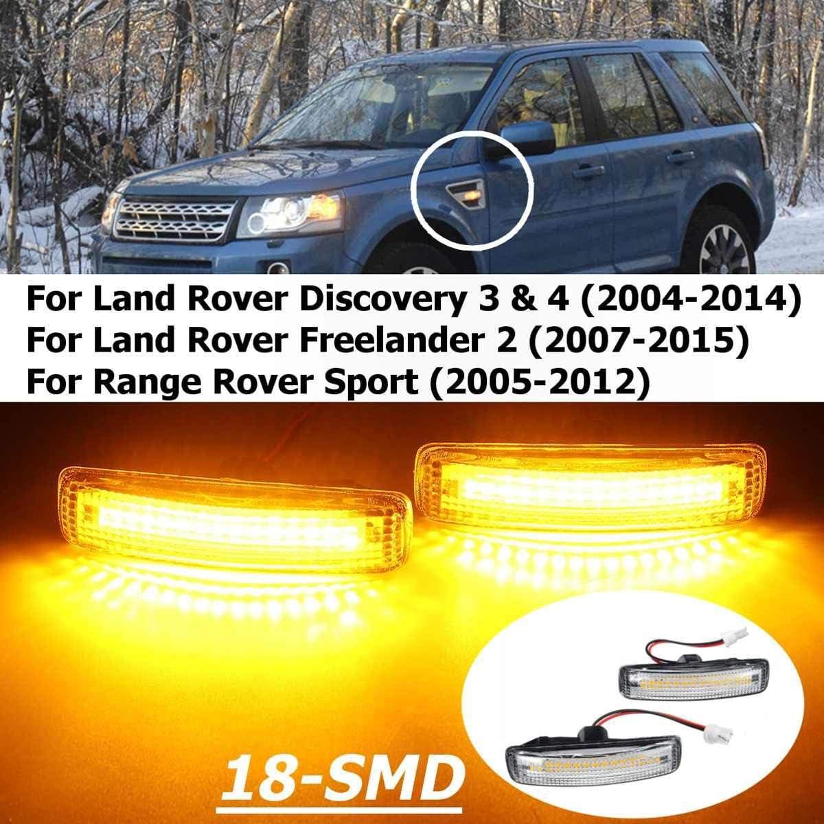 LED Land Range Rover Sport Discovery 3 4 LR007954 Clignotant Latéral Répéteur