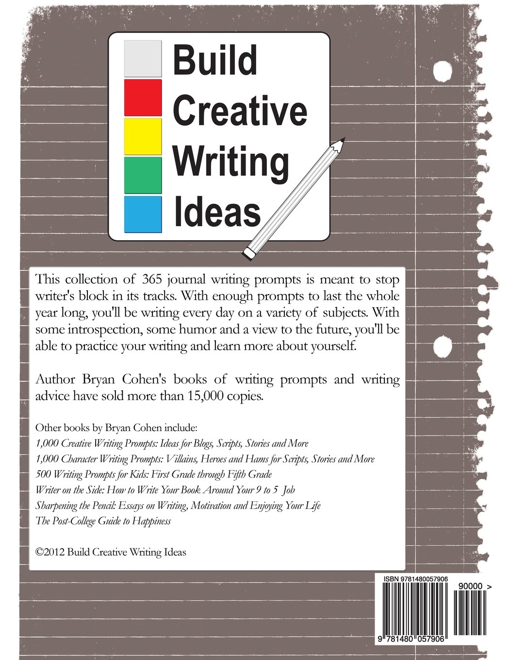 ideas for writing a book pdf