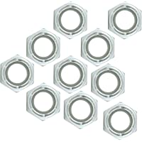 Allstar Performance 16014-10 Nylon Insert Nuts 1/2-13 10pk