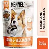 Kennel Kitchen Dog Food, Lamb and Vegetables, 300 g (Pack of 6)