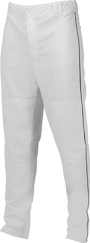 Marucci Youth EliteダブルニットPiped Baseballパンツ B00MPQZ99O XX-Large ホワイト/ネイビー ホワイト/ネイビー XX-Large