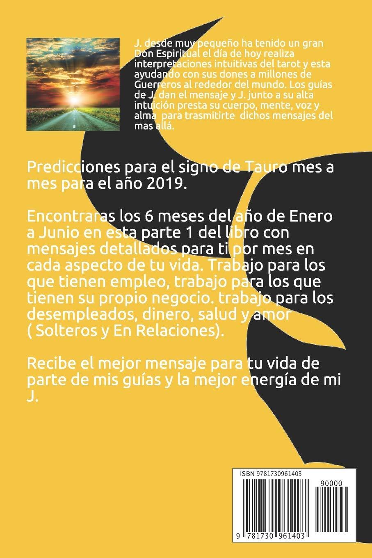 Tauro: Predicciones 2019 (Horóscopo 2019): Amazon es: J  Tarot: Libros