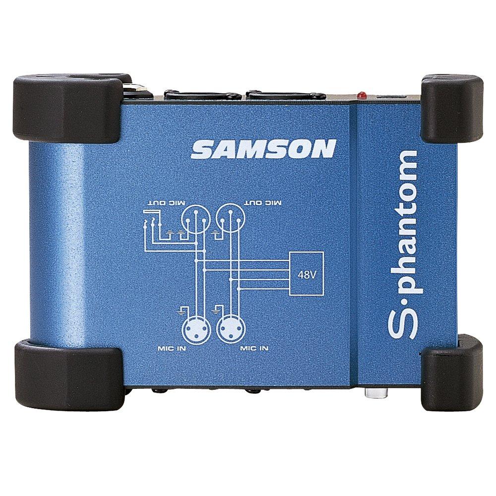 Samson SASPHANT S-Phantom Alimentation fantôme avec 2 canaux 48 V Samson Technologies