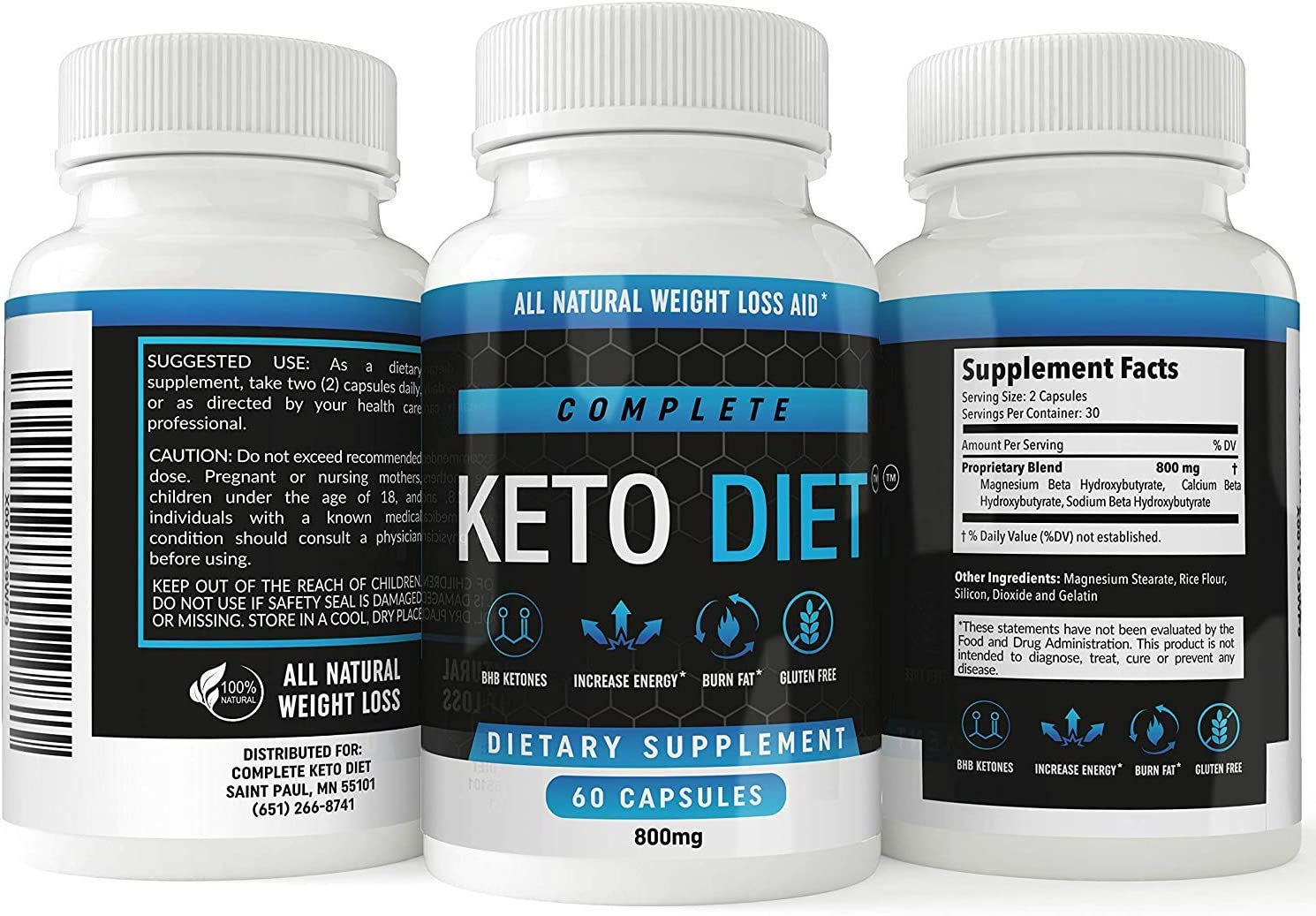 Ketovatru/Keto Diet Pills Exclusive Bottle