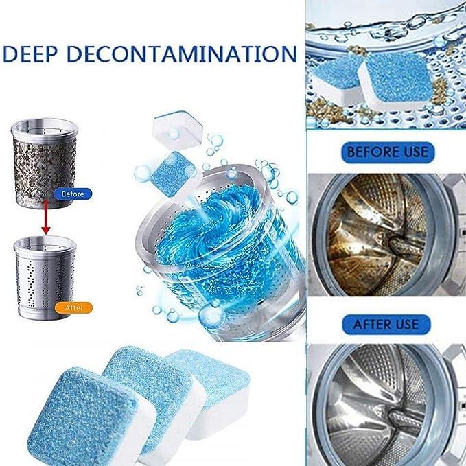 Tabletas de limpieza para lavadora, Lavadora Lavavajillas Máquina ...