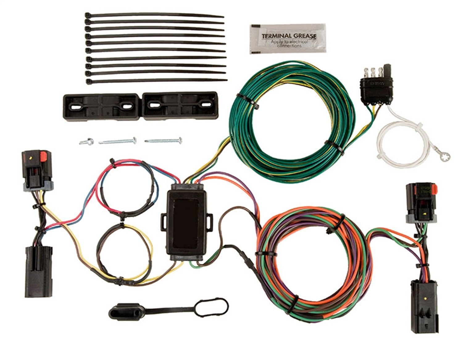 ox bx88276 ez light wiring harness kit trailer wire installation kitblue ox wiring harness wiring library rh yessisterjazzsister nl