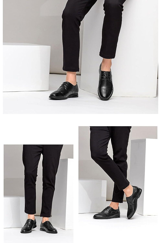 MUYII Oxfords Dress Scarpe In Pelle Per Uomo Lace-up Plain Toe Scarpe Da  Uomo Formale Business Casual Scarpe Comode Da Uomo  Amazon.it  Abbigliamento d712f7d39c3