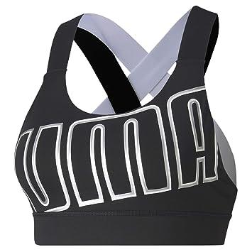 PUMA Feel It W Mid Impact Sujetador Deportivo, Mujer: Amazon.es ...