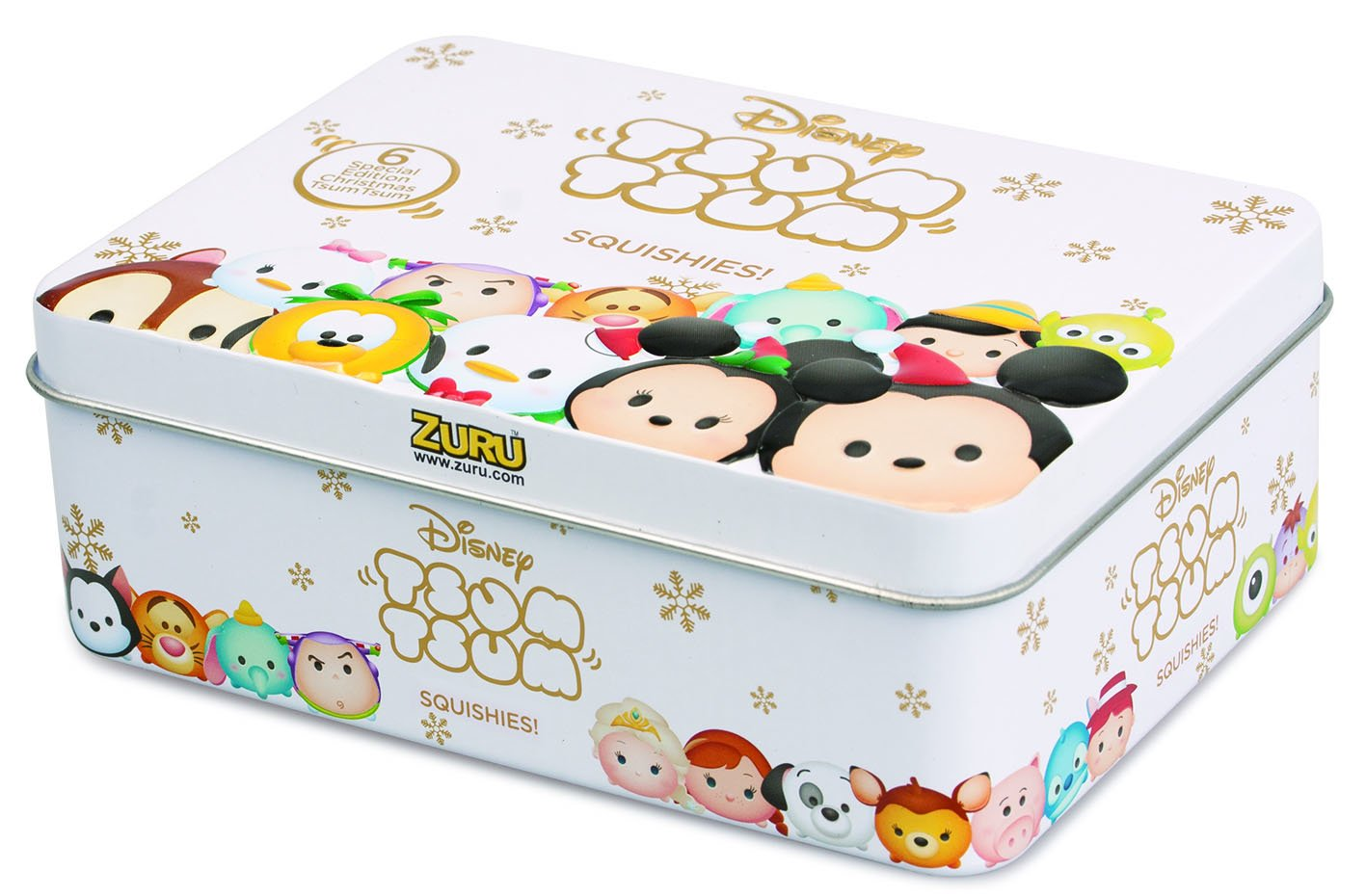 Disney Tsum Tsum Squishies Edition de Noël Étain Zuru TT5860