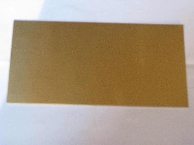 185/€ m/² , 0,1 mm Modellbau Berthold Messingblech 200x100 mm in 0,1-0,3-0,5-1,0-1,5 mm Gr/ö/ße W/ählbar