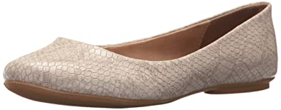 Kenneth Cole REACTION Women's Slip Ballet Flat, Almond, 5 Medium US