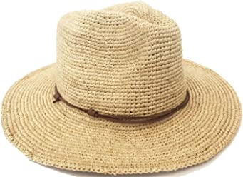 Headchange Raffia Straw Safari Hat Music Festival Summer Beach Big Brim  Fedora c7409a10cbf8