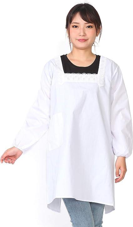 KOMESICHI Long Sleeve Apron Frills Kimono Yukata