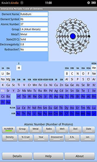 amazoncom interactive periodic table of elements appstore for android