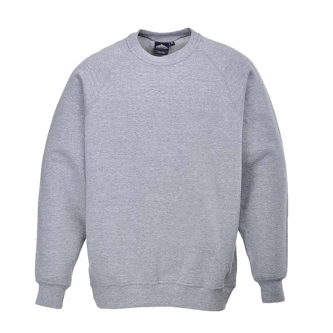 Portwest B300 Roma Sweatshirt –  Pack of 1, blue, B300DNRM B300 - Roma Sweatshirt