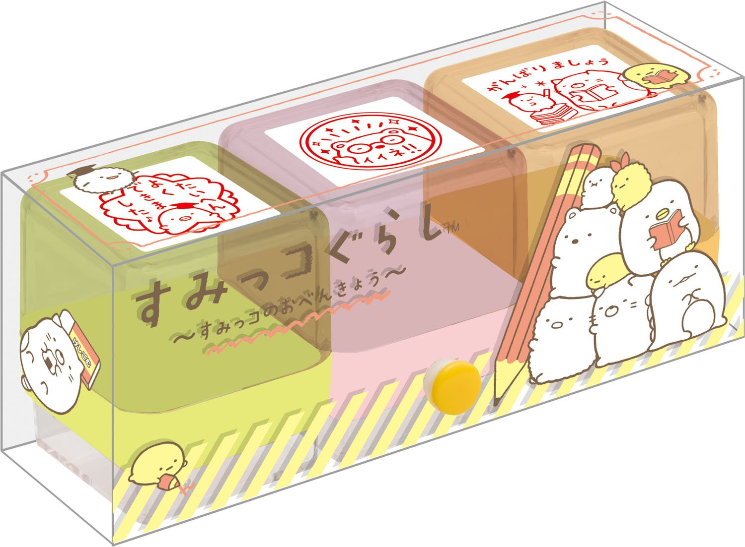 Amazon San X Sumikko Gurashi Teacher Stamp Set FT41701 Office Products