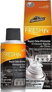 Armor All Car Air Freshener and Purifier - Odor Eliminator for Cars & Truck, 1.5 Oz Fogger, Freshfx New Car, 18507