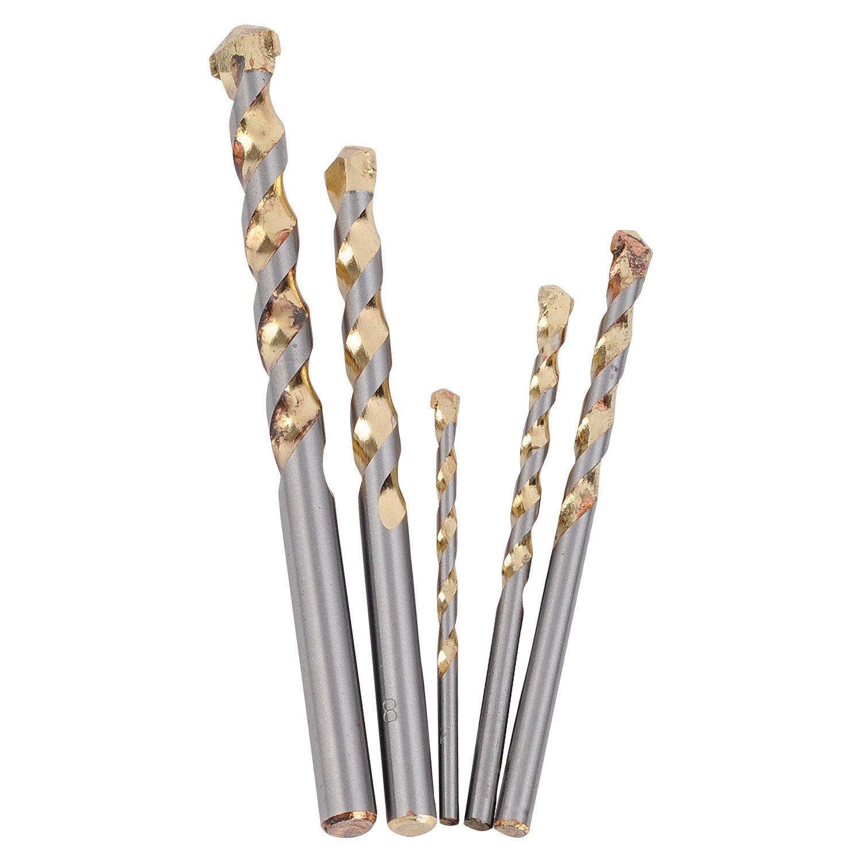 PowerPlus POWXTS140 Juego de brocas HSS para madera y metal 120 piezas