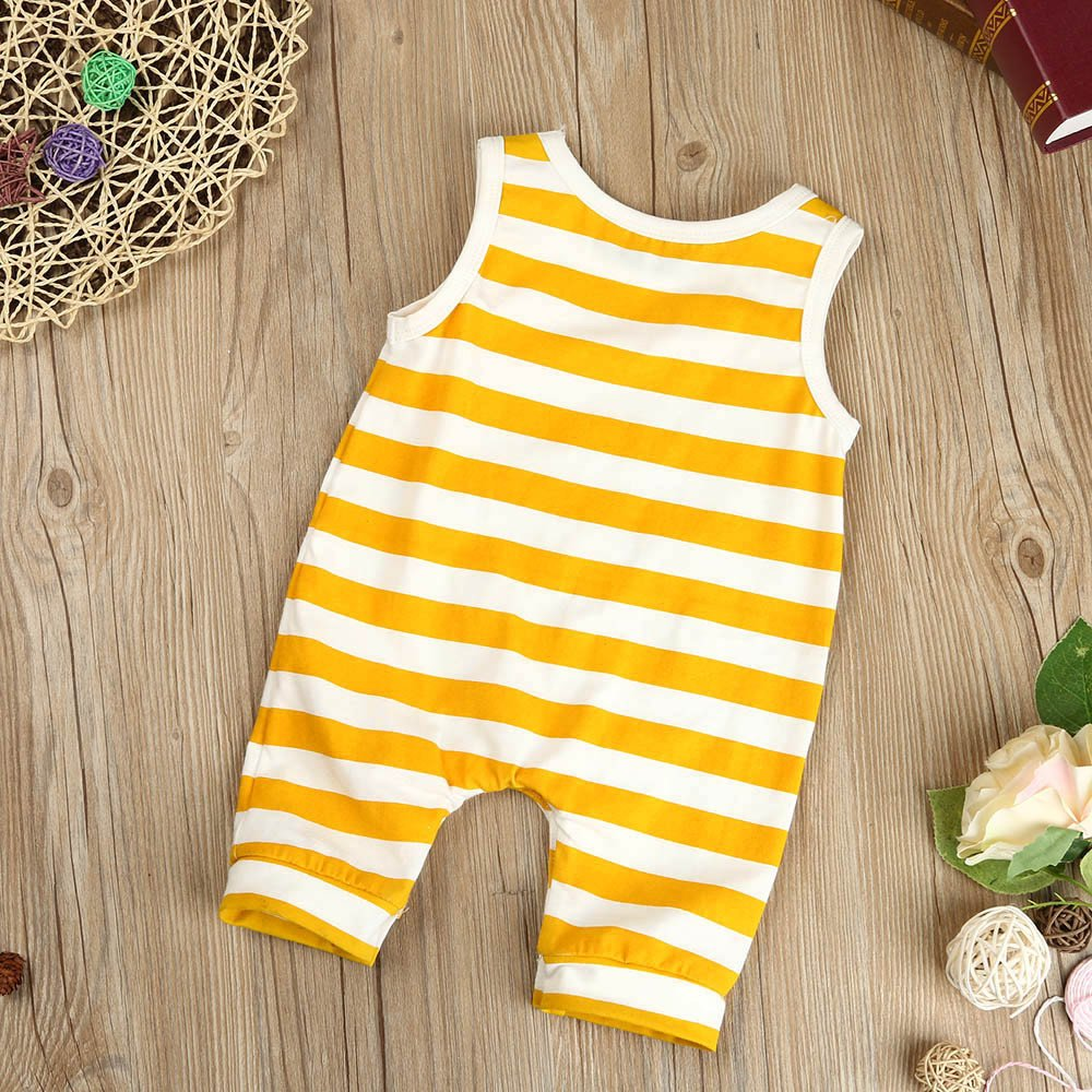 Palarn Stylish Toddler Jumpsuit, Baby Boys&Girls Striped Sleeveless Cute Romper Outfits Clothes by Palarn (Image #7)