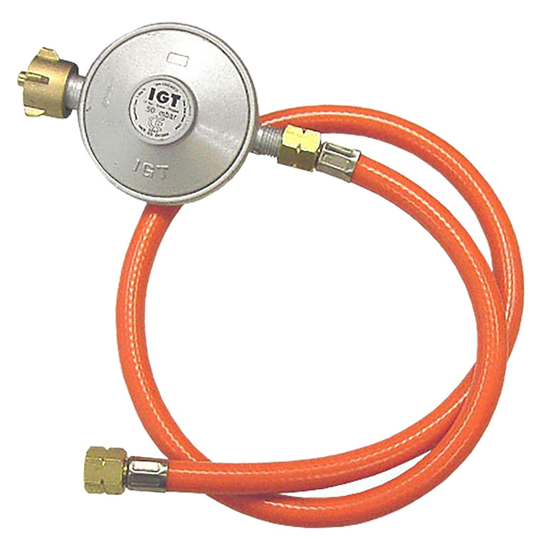 Multistore 2002 Gas Pressure Regulator 50mbar + Gas Hose New