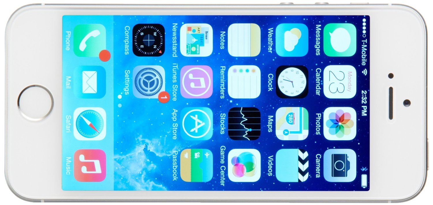 Apple iPhone 5S 16GB GSM Unlocked, Silver (Certified Refurbished) by Apple (Image #4)