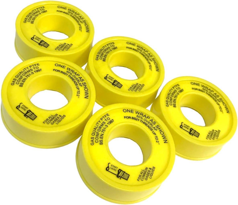 PTFE GAS TAPE Best Quality 5M x 12mm x 0.2mm