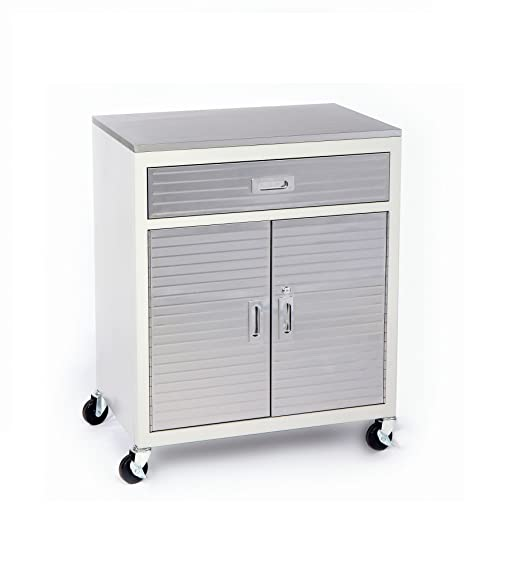 Amazon.com: Seville Classics UltraHD One Drawer Cabinet Stainless ...