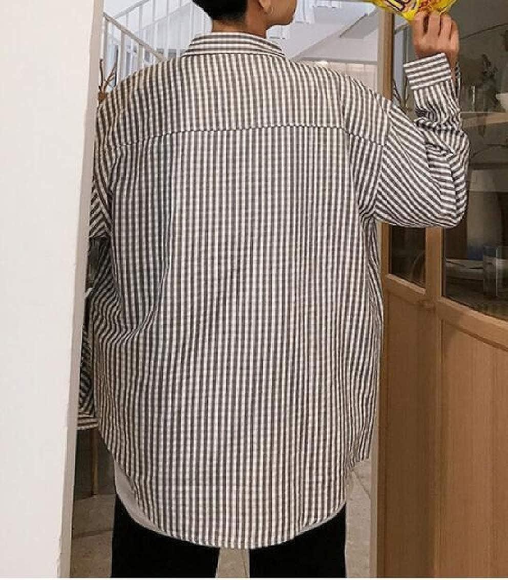 Sweatwater Mens Top Juniors Button-Down Plaid Slim Fit Long-Sleeve Shirt