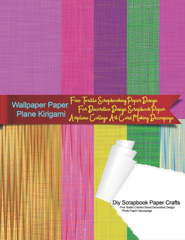 Amazon Fr Wallpaper Paper Plane Kirigami Diy Scrapbook