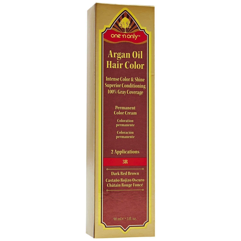 One 'n Only Argan Oil Permanent Hair Color 9R Dark Red Brown