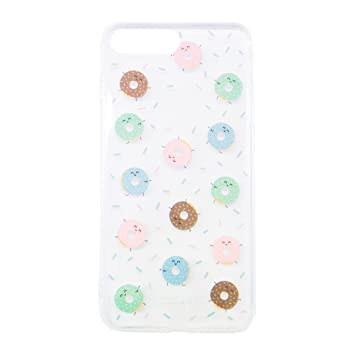 a4a47e66710 Mr. Wonderful MRCAR093 - Carcasa Funda para Apple iPhone 7 Plus, Mini  rosquillas: Amazon.es: Electrónica