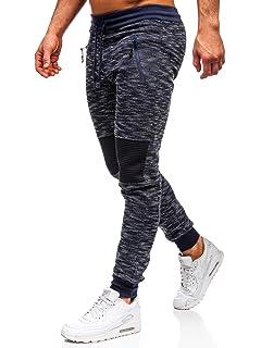 Pantalones de chándal para hombre, con forro polar, para correr ...