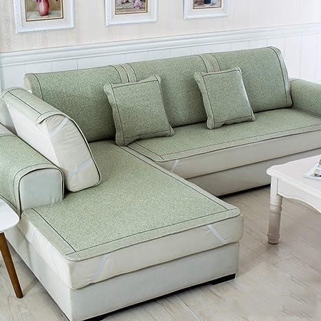 LIUWAN Rimovibile ed ecologicoCojín de sofá de ratán Verde ...