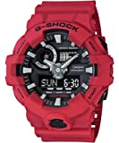 Casio G-Shock Analog Digital Men's Watch (Red x Black) GA-700-4A / GA700-4ADR