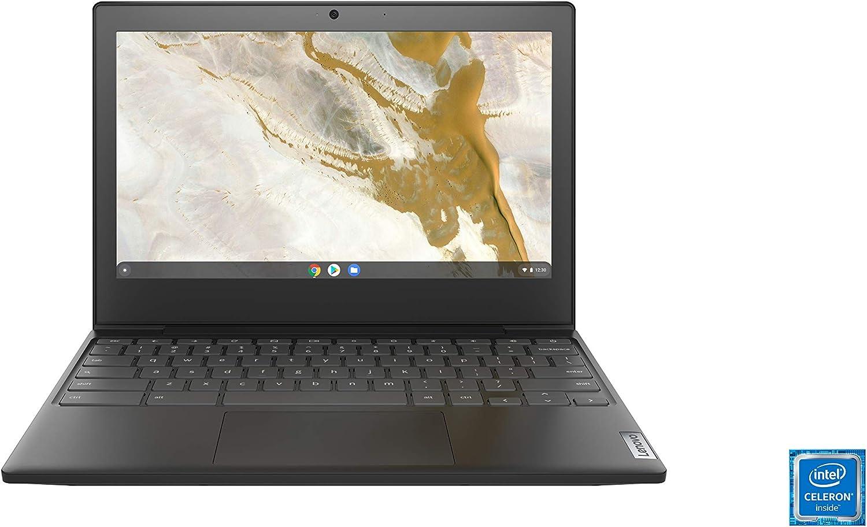 "Lenovo Chromebook 3 11"" Laptop, 11.6"" HD (1366 x 768) Display, Intel Celeron N4020 Processor, 4GB LPDDR4 OnBoard RAM, 64GB SSD, Intel UHD Graphics 600, Chrome OS, 82BA0003US, Onyx Black"