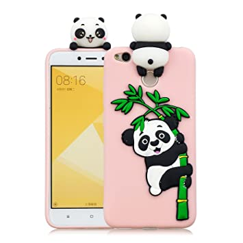 de-Meet Carcasa Xiaomi Redmi 4 x, Slim Protección para ...