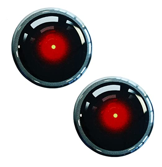 2 X Aufkleber 3d Gel Silikon Stickers Sicherheit Uberwachungskamera