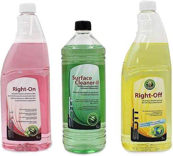 1 Liter Surface Cleaner Ii Sott Reiniger Für Car Wrapping Oberflächenreiniger Speziell Für Werbeindustrie Baumarkt
