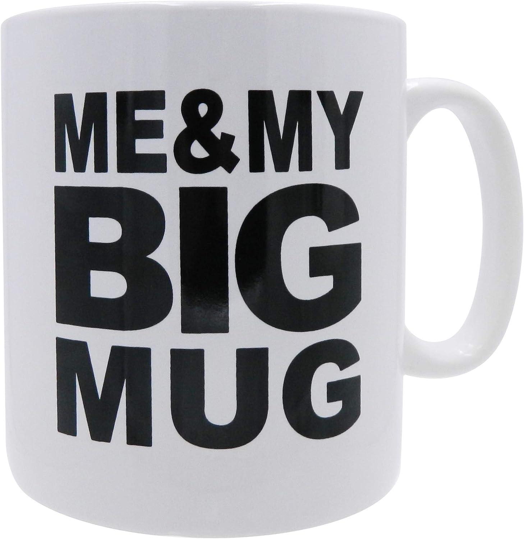 Mug Big Coffee Mug Me My Big Mug Big Mug Oversized 28 Ounces Mega Size Cup Extra Large For Big Drinks Office Desk Decor Novelty Gift Coffee Lovers Amazon Ca Home Kitchen