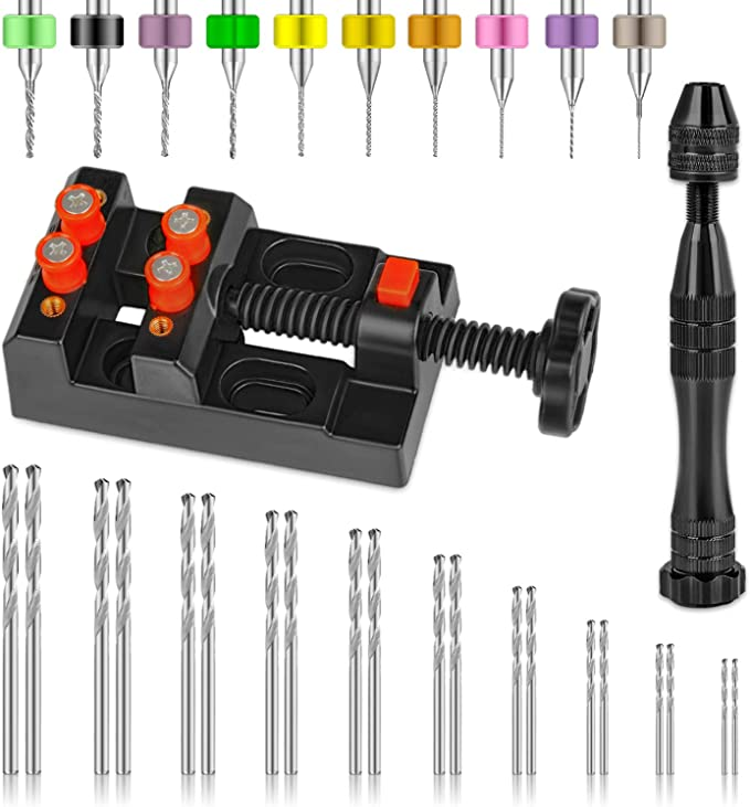 Mini Brass Drill Pin Vises 830-0326 2 Pcs