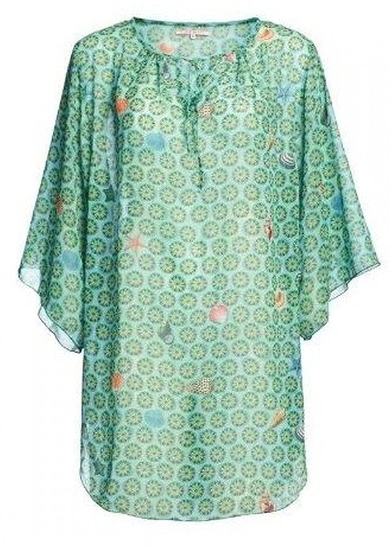 PiP Studio Damen Träger Tunika Kleid Tunic fein transparent