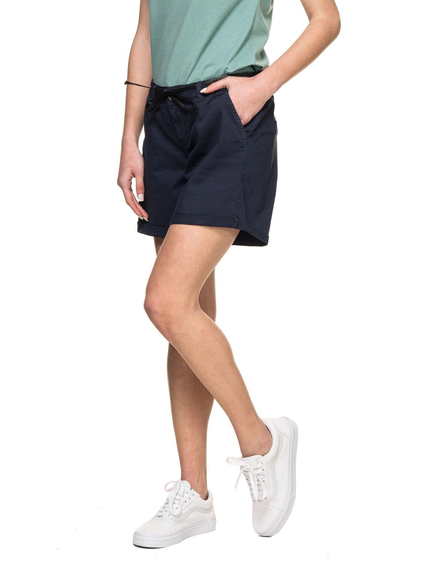 GARCIA JEANS Women's Women's Black Short Shorts Wiyh Zip in Size XS Black