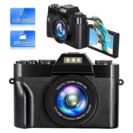 Camara de Fotos Camaras Digitales Camara Compacta 2.7K 30 MP 16x ...