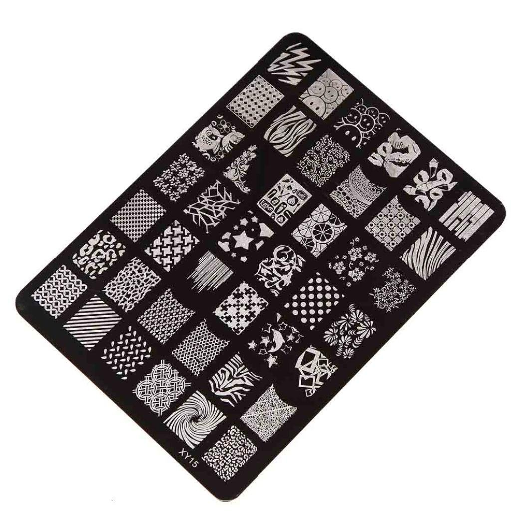 Amlaiworld DIY de la manicura del arte del clavo que estampa la impresora Plate
