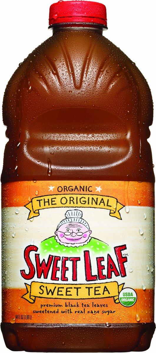 Sweet Leaf Tea, Original Sweet Tea, 64-Ounce Bottles (Pack of 8)