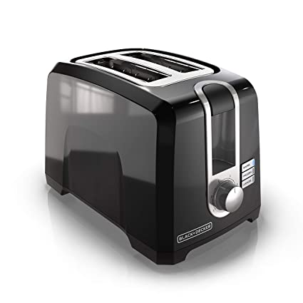 Black & Decker T2569B 2 Slice Toaster, Black