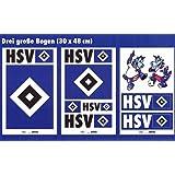 HSV HAmburger SV Wandsticker, Wandtattoo