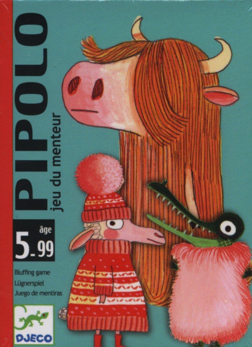 Djeco- Pipolo Juego de Cartas, (149-016A): Amazon.es ...