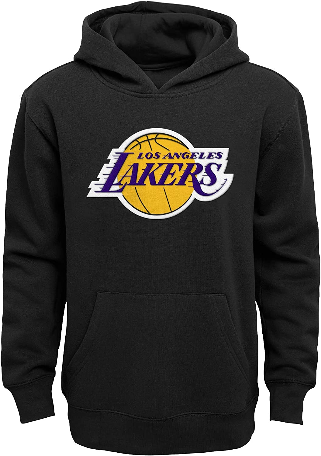 Amazon Com Los Angeles Lakers Youth Black Prime Pullover Hoodie Clothing